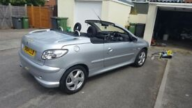 Peugeot 206cc quicksilver model