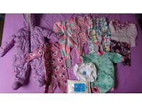 Baby girl 3-6 months clothes bundle