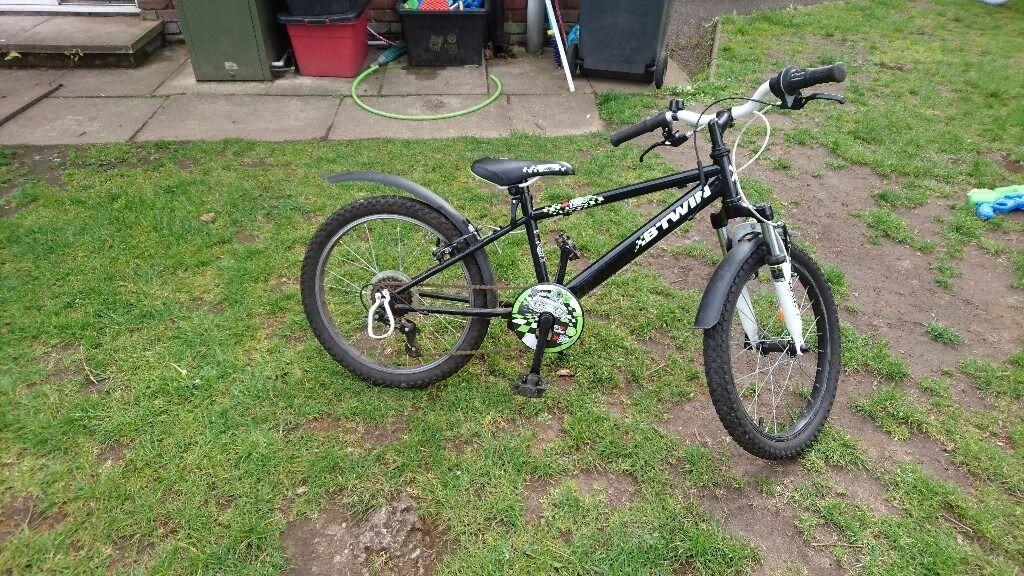B'twin kids mountain bike - used