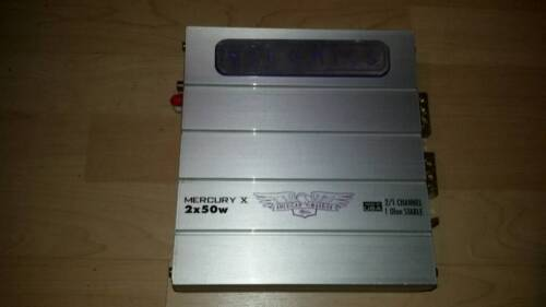 HiFonics Mercury X Endstufe 2x 50 Watt Hi Fonics Hifi Verstärker