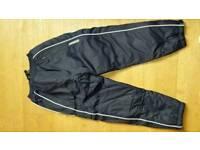 Mens med fleece lined substitute tracksuit bottoms