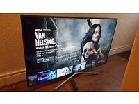 "SAMSUNG UE55KU6000 55"" 4K Ultra HD Premium Smart LED TV Freeview HD & Freesat HD,Excellent Condition"