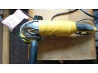 Clarke contractor angle grinder and discs