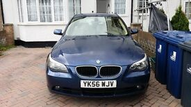 £4250 ONO BMW 5 SERIES 2.0 DIESEL CREAM INTERIOR GREAT FAMILY CAR