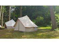 3m bell tents - luxury canvas tents