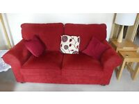 Sofa bed, chair and foostool