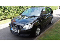 2007 VW POLO 1.2 PETROL ONE OWNER,LOW MILEAGE,FULL SERVICE HISTORY