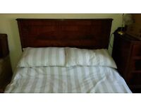 Standard Double Bed (4ft6 by 6ft3). with Head & Foot board