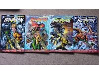 "AQUAMAN - All 4 volumes of Geoff Johns' ""New 52"" Aquaman comic series - Good Condition - CHEAP"