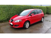 Seat altea 1.6 red stylance 5 door car 2009 69000 miles. Private plate not for sale . Leon
