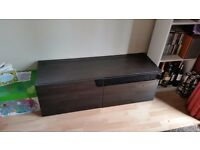 Black gloss tv unit/cupboard