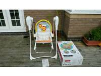 Fisher price 3 in 1 rocker and swing
