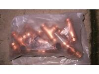 End Feed & Solder Ring Copper Fittings