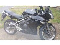 Kawasaki ER6F 2010 - Low miles - Serviced - Shoei Helmet included