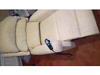 hsl riser recliner chair yr old £250 ono