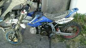 Pit bike 110cc and spare parts (Cheap bargain ) or swaps..