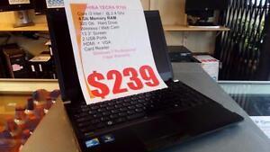 Toshiba Tecra R700 - i3 Intel - 4Gb - 320Gb HDD - HDMI - 1 Year Warranty !