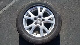 Mazda 6,5,3 Spare Wheel with tyre