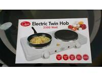 Portable electro hob ideal for camping