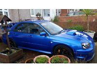 Subaru impreza wrx sti uk type modified to 550+bhp