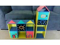 Storage units, kids playroom??