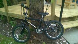 BMX style kids' bike