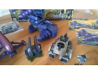 Xbox HALO Lego Compatable Models & Minifigures. Collectable.