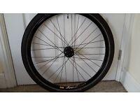 "Shimano XT hub with Mavic rim, 26"" wheel for mountain bike or hybrid, for disc brakes"