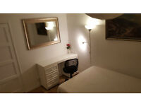 Double room for short let on weekly basis- quiet room £120 per week
