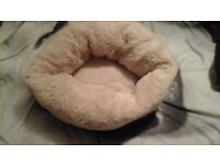 dog bed ( snuggle cup ) this is gorgeous soft n fluffy