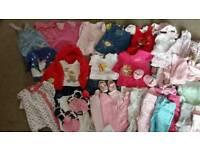3 - 6 months girls clothes HUGE bundle