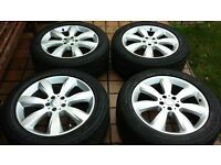 """19"""" 5x112 Mercedes Alloys with tyres"""