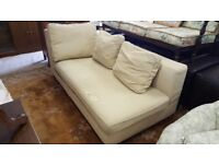 Modern Chaise Style Sofa With Removable Covers