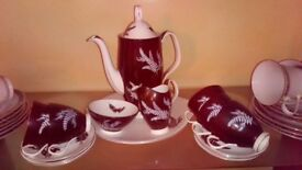 Royal Albert Coffee Set. Immaculate condition
