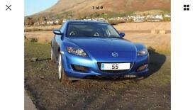 Ultra rare UK but Japan built Mazda RX-8 Automatic