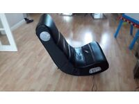 **X-ROCKER ROCKSTER 2.1 GAMING CHAIR**GOOD CONDITION**FULLY WORKING**