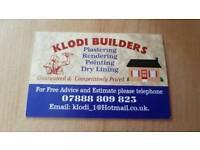 Plastering service in enfield klodi builders
