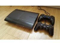 Sony PS3 500GB Super Slim Console (inc. 2 controllers and 10 games)