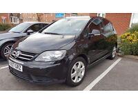 VW GOLF PLUS 1.9 TDi SE @ BLACK TINTED WITH LIFE TIME WARRANTY@ FULL MOT @ CHEAPEST 2007 IN UK !!!