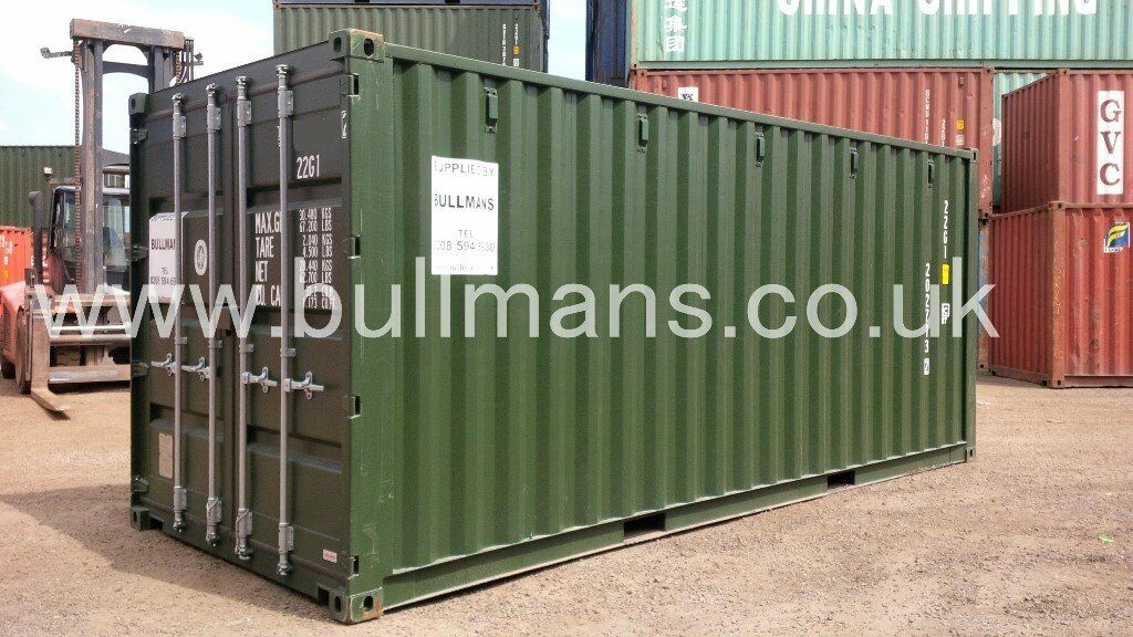 20ft new build / single trip shipping container steel container, container, site container for sale