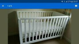 Mothercare Whitehaven Cotbed and Mattress