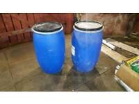 Barrels open top
