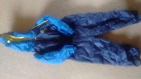 Bluezoo boys puddle suit 5-6