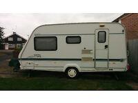 Elddis Shamal XL 2000 4 berth Caravan good condition