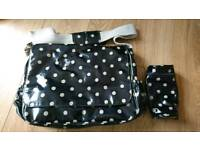Cath kidston changing bag and bottle holder