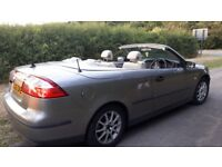 2006 SAAB 9-3 LINEAR CONVERIBLE, GREY, FULL TEST, 92,500 MILES, LOVELY CAR
