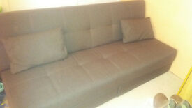 Debenhams sofa-bed with draws excellent condition
