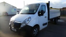2013 Movano pickup, aka renault master 13 ft body With tail lift