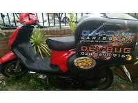 Tgb 125cc delivery bike