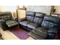 Harveys 3 seater Recliner sofa and Armchair